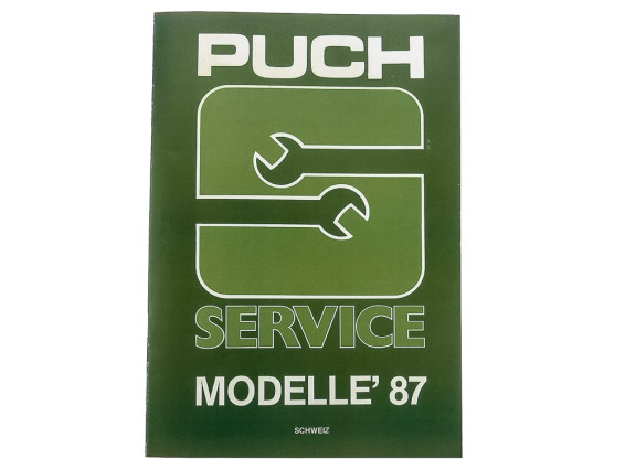 Servicebuch Puch Modelle '87
