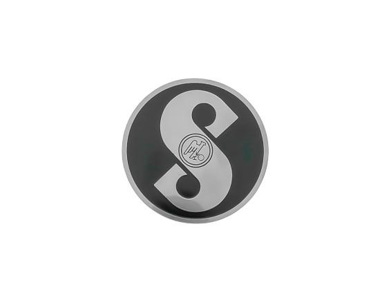 Sachs Emblem schwarz (geätztes Blech)