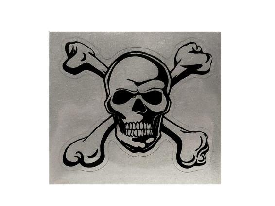 Totenkopf für Textil & Leder