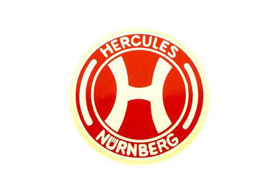 Hercules Wappen rot Wasserabziehbild