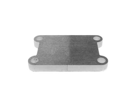 Platte Einlass Italkit Aluminium