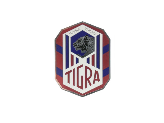 """Tigra"" Wappen Kleber"