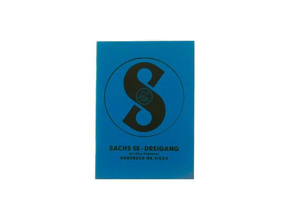 Handbuch Sachs 50 - Dreigang (50/3)