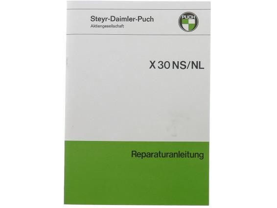 Puch X30 NS/NL Reparaturanleitung
