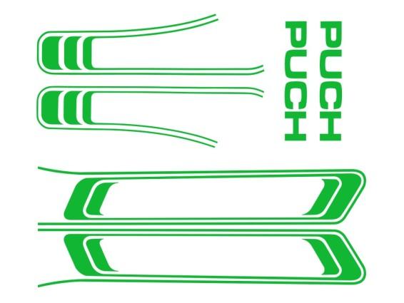 Klebersatz Puch Maxi hellgrün