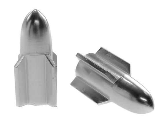 Ventilkappen Torpedo Aluminium