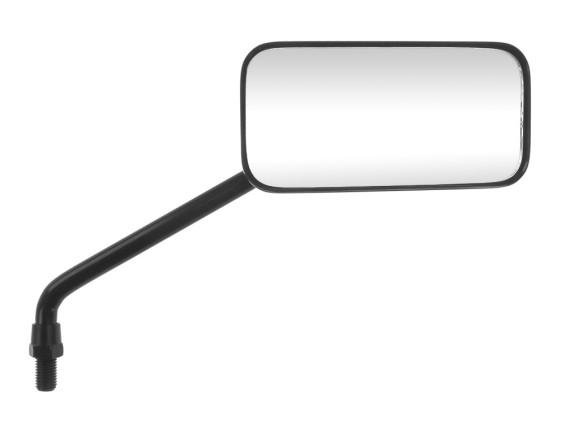 Spiegel Chopper rechteckig lang rechts schwarz