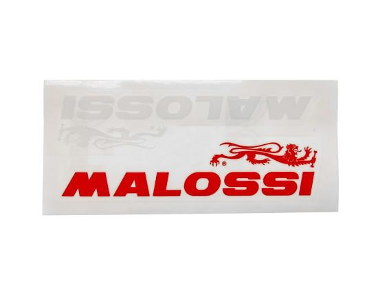 """Malossi"" Kleber rot / weiss 60 x 14 cm"