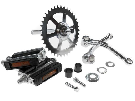 Set Tretgarnitur Puch X30 Sport NS/NL komplett