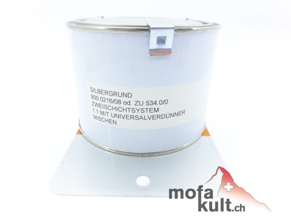400 ml Silbergrund (Rahmen & Motor)