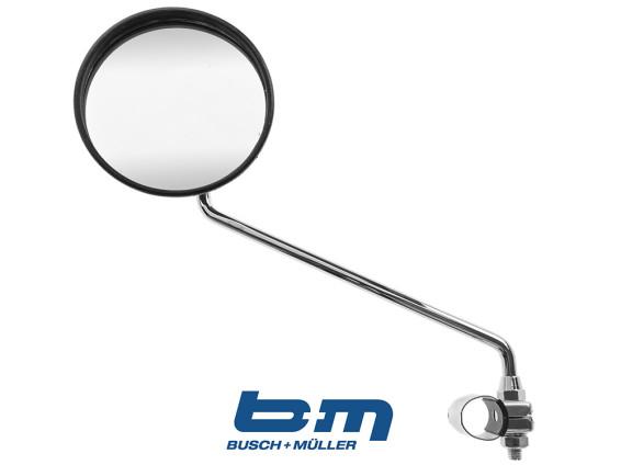 Spiegel rund bumm standard schwarz chrom optik styling puch - Spiegel rund schwarz ...