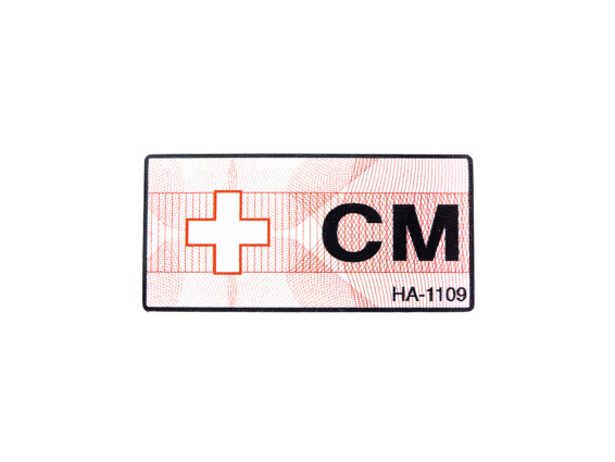 """""""CM"""" Marke für Betriebserlaubnis"""