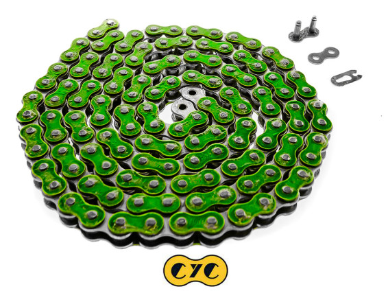 Antriebskette CYC metallic grün