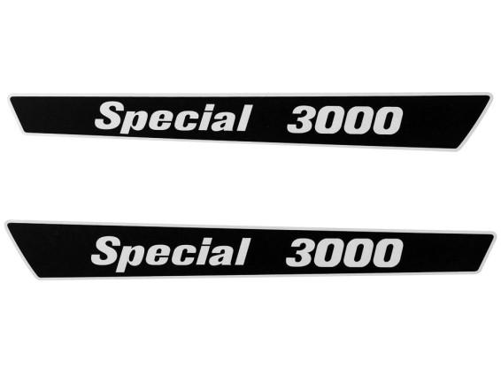 Alpa Special 3000 Aufkleber Seitenverkleidungen 340 x 35 mm