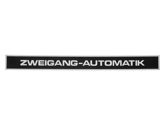 DKW Sachs Cross 623 Aufkleber Seitenverkleidung 255 x 23 mm