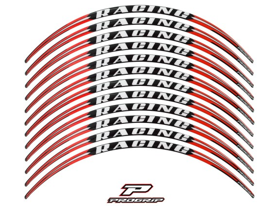 ProGrip Sticker Felgen Racing Rot