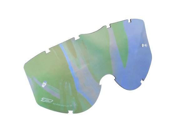 ProGrip Ersatzglas Raceline blue bright