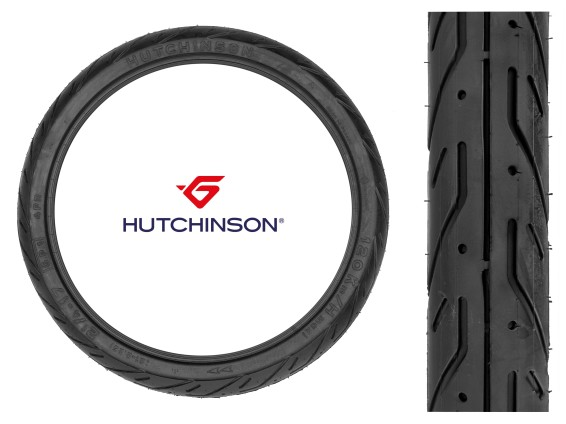 "Hutchinson 2.25 x 17"" Semi-Slick"