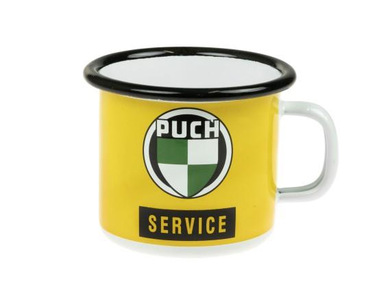 Tasse Puch Service gelb