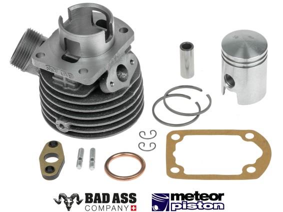 BadAss 38 mm Sachs 50/2 Zylinderkit schlitzgesteuert (CH)