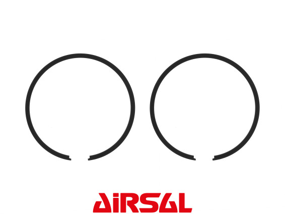 Airsal Kolbenringe Ø 43.5 x 1.5 mm Morini schwarz (Paar)