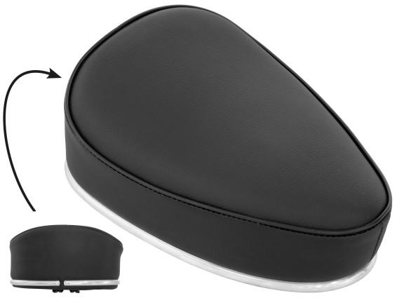 Mofa Sitzbänkli schwarz universal