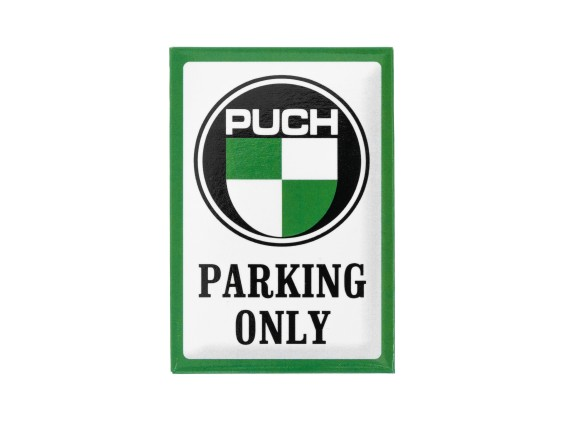 Magnet «Puch parking only» 7.6 x 5.3 cm