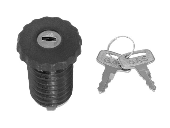 Tankdeckel Maxi N mit Schlüssel (niedrige Ausf.)