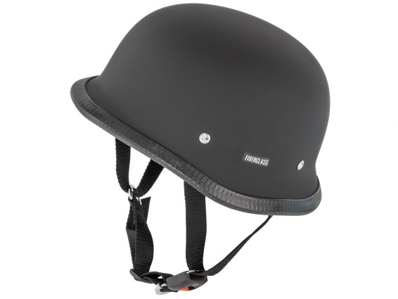 Topfhelm «Military» schwarz matt