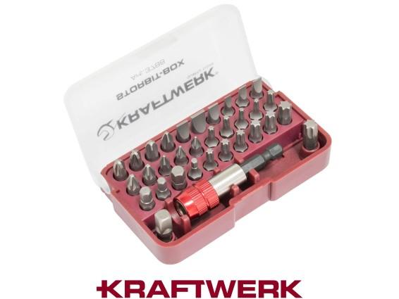 "Kraftwerk 1/4"" Bit-Box 33-teilig"