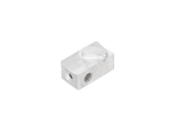 Gleitstein Gasdrehgriff CNC Alu Domino