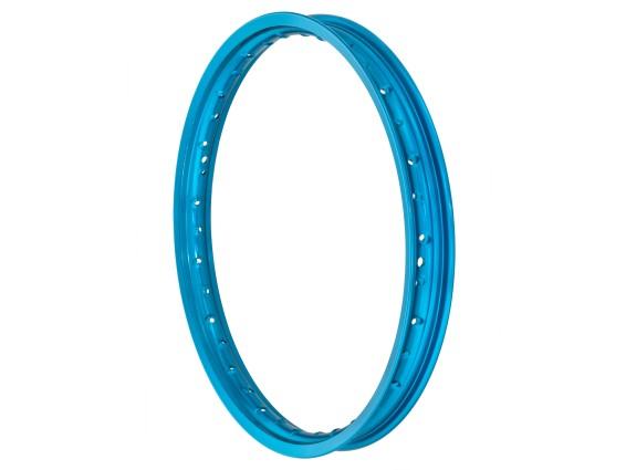 "Felgenring 1.40 x 17"" blau eloxiert (49 mm breit)"