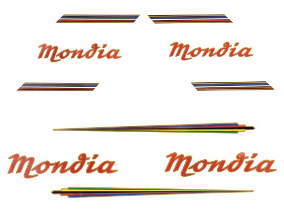 Klebersatz Mondia