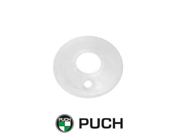 Abdeckplatte Kupplungsdrehfeder weiss Puch X30 Z50 NOS