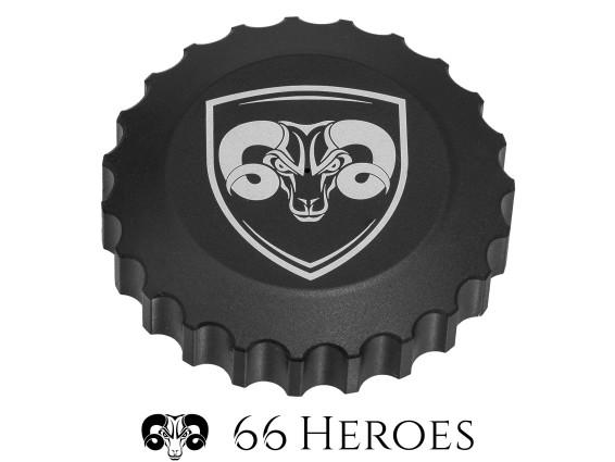 66Heroes Tankdeckel Bajonett 40 mm schwarz | 66Heroes