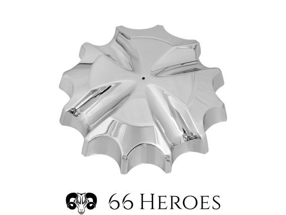 66Heroes Tankdeckel Bajonett 30 mm Chrom | Iron-Cross