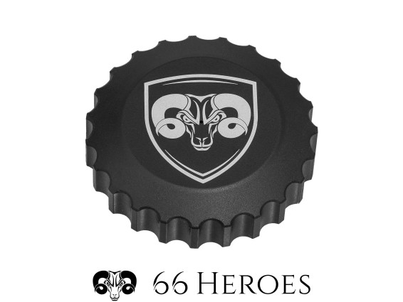 66Heroes Tankdeckel Bajonett 30 mm schwarz