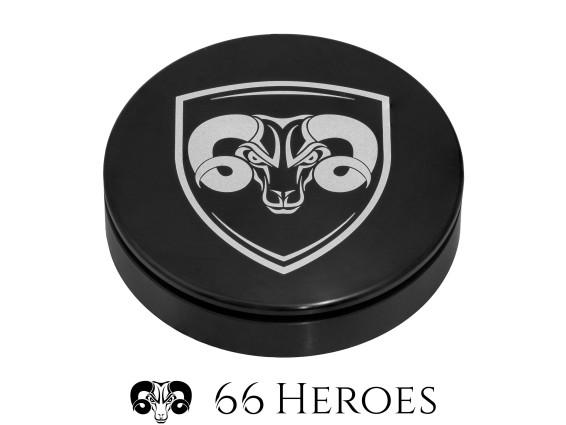 66Heroes Tachoblende Ø 48 mm schwarz | 66Heroes