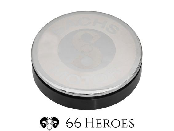 66Heroes Tachoblende Ø 48 mm Chrom | Sachs