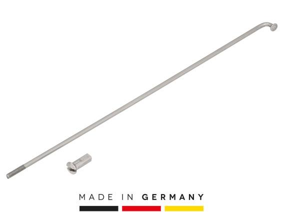 """WWS 17"""" Speiche inkl. Nippel (2.6 x 185 mm) Inox einzeln"""