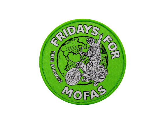 Gang Patch «Fridays for Mofa» Ø 75 mm