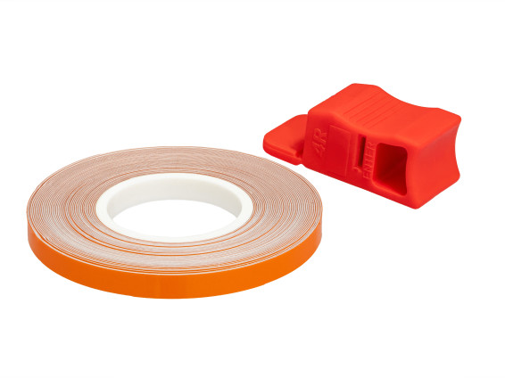 Felgenband 5 mm orange (6 m)
