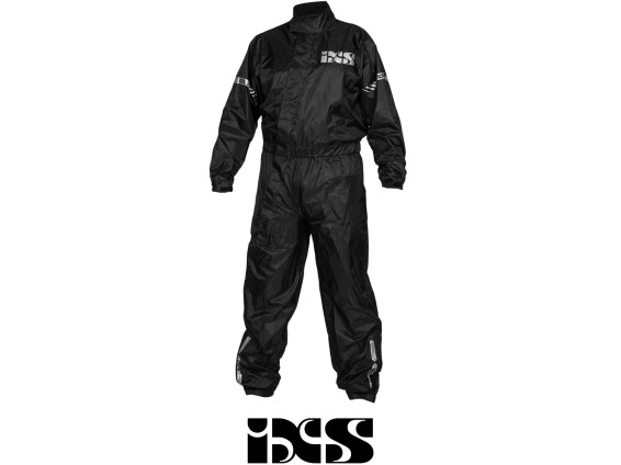 IXS Regenkombi schwarz (S - XL)