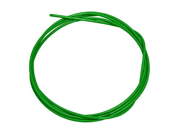 Stromkabel 1-adrig grün 1 mm² (per Meter)