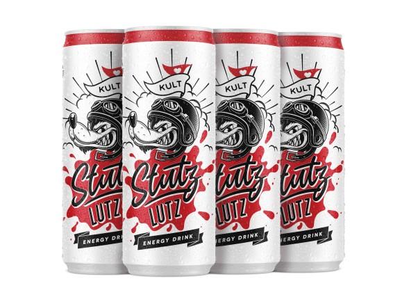 Stutz Lutz – Energy-Drink «Mofakult-Edition» 6er Pack