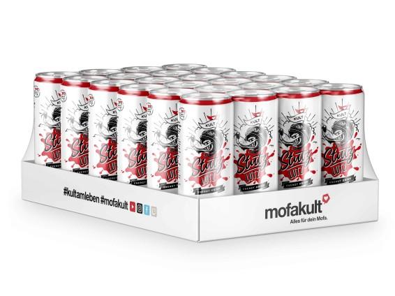 Stutz Lutz – Energy-Drink «Mofakult-Edition» 24er Pack