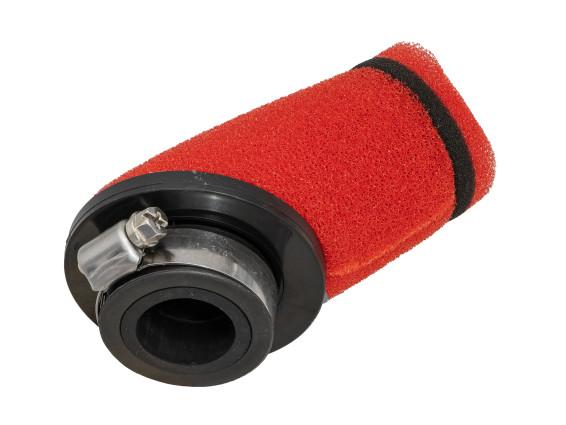 Luftfilter Schaumstoff 30° rot (Ø 28 / 35 mm)