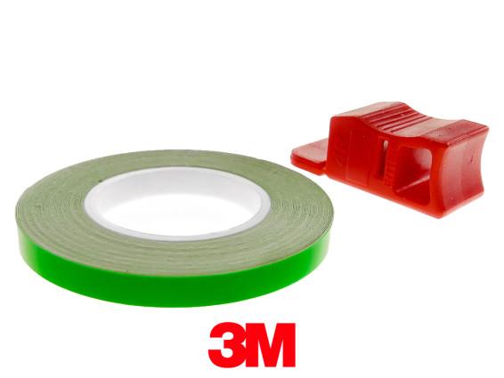 Felgenband 5 mm neongrün leuchtend 6 m