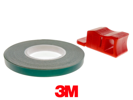 Felgenband 5 mm grün 6 m (3M)