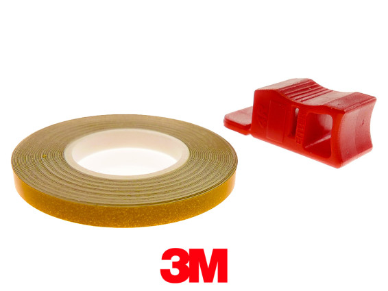 Felgenband 5 mm gelb 6 m (3M)